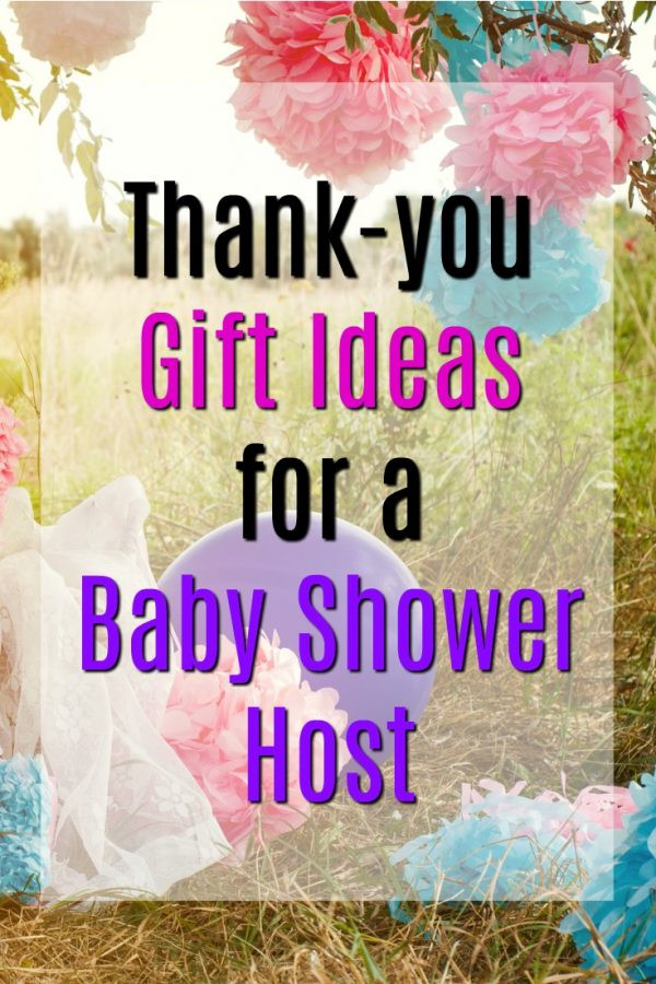 Best ideas about Gift Ideas For Baby Shower Host . Save or Pin 20 Thank You Gift Ideas for Baby Shower Hosts Unique Gifter Now.