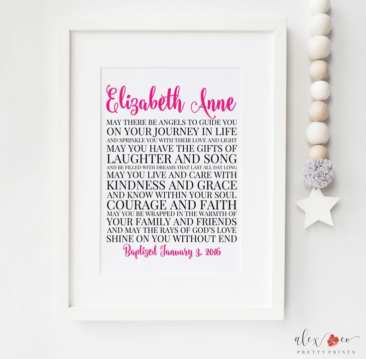 Best ideas about Gift Ideas For Baptism Baby Girl . Save or Pin Best 25 Baby christening ts ideas on Pinterest Now.