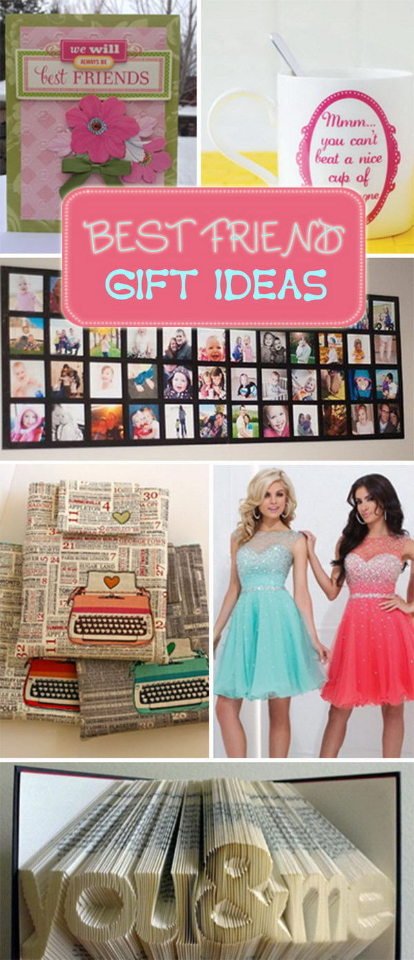 Best ideas about Gift Ideas For Best Friends . Save or Pin Best Friend Gift Ideas Hative Now.