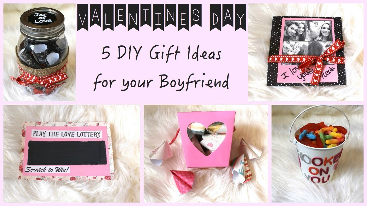 Best ideas about Gift Ideas For Boyfriend Christmas . Save or Pin 5 DIY Gift Ideas for Your Boyfriend Now.