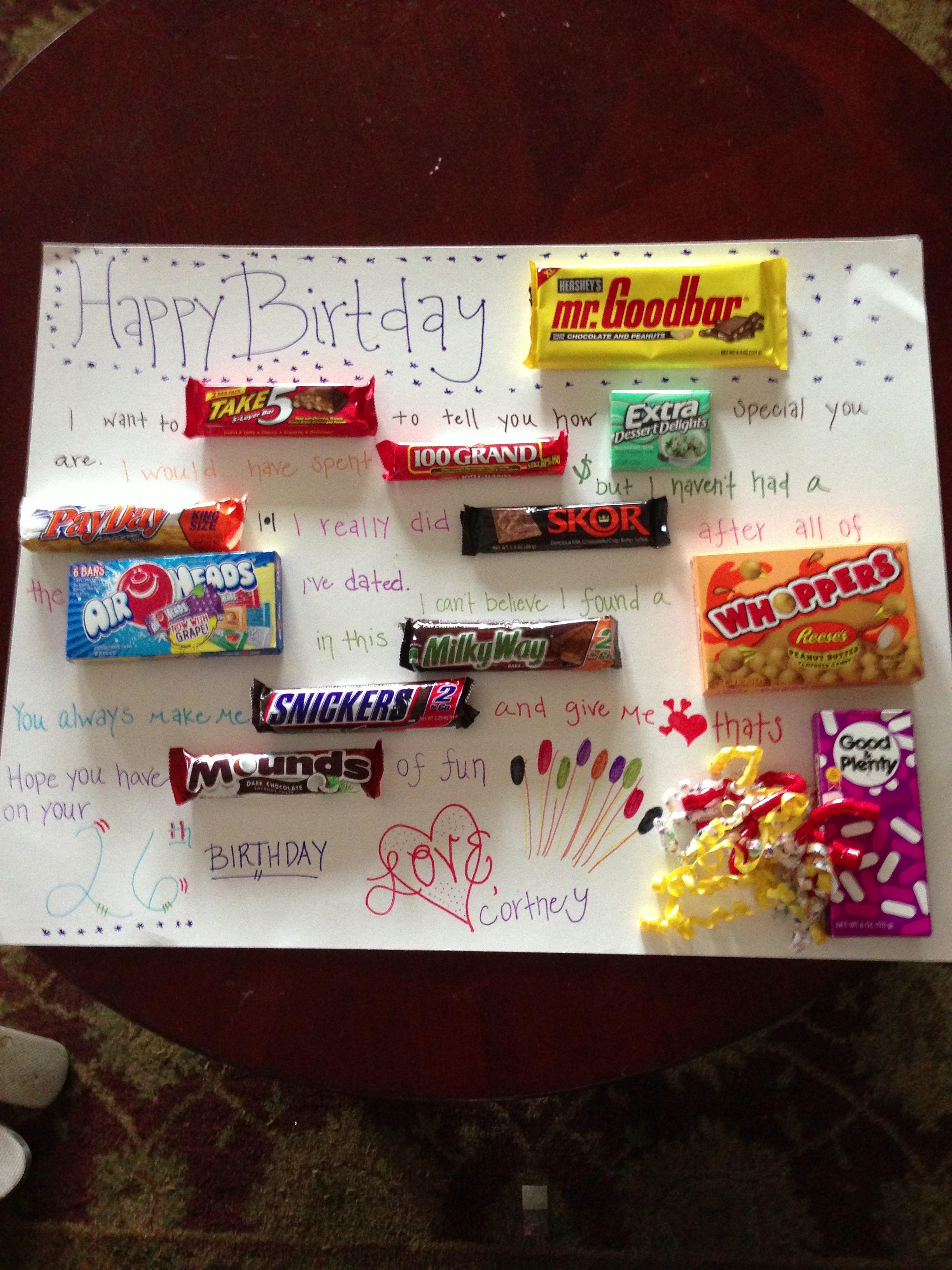 Best ideas about Gift Ideas For Boyfriends Birthday . Save or Pin For the boyfriends birthday Now.