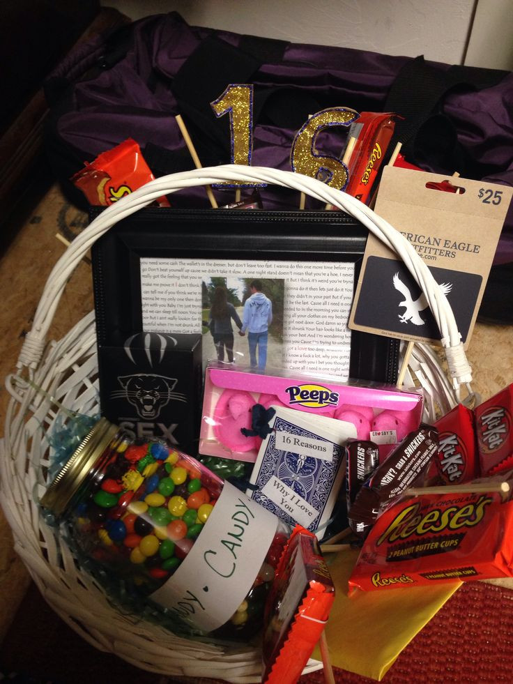 Best ideas about Gift Ideas For Boyfriends Birthday . Save or Pin My boyfriend s 16th birthday present Now.