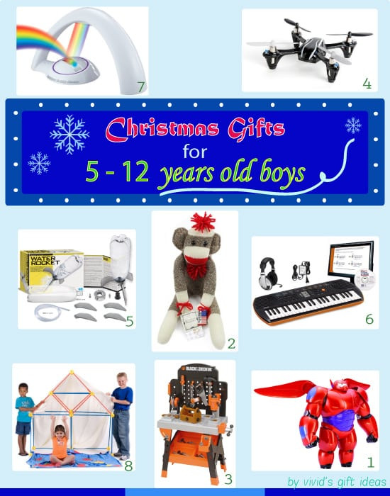 Best ideas about Gift Ideas For Boys Age 12 . Save or Pin Gift Ideas for 5 12 Years Old Boys Christmas Edition Now.