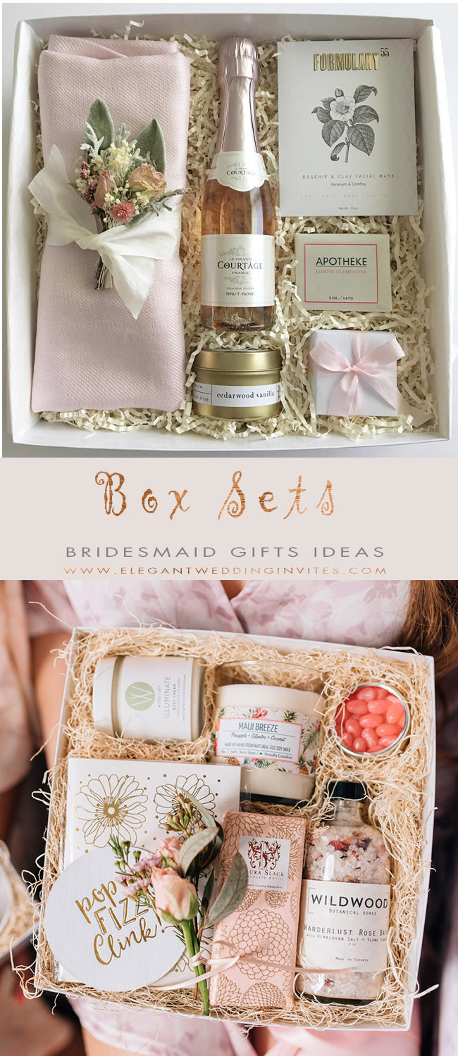 Best ideas about Gift Ideas For Bridesmaids . Save or Pin The 10 Best Bridesmaid Gifts Ideas – Elegantweddinginvites Now.
