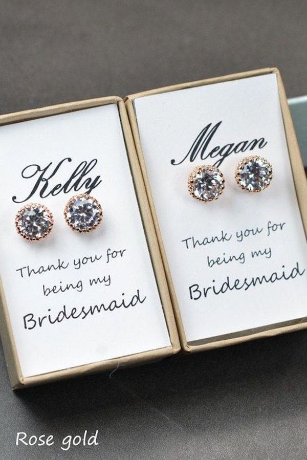 Best ideas about Gift Ideas For Bridesmaids . Save or Pin 15 Super Fun Ideas for Bridesmaid Gifts Now.