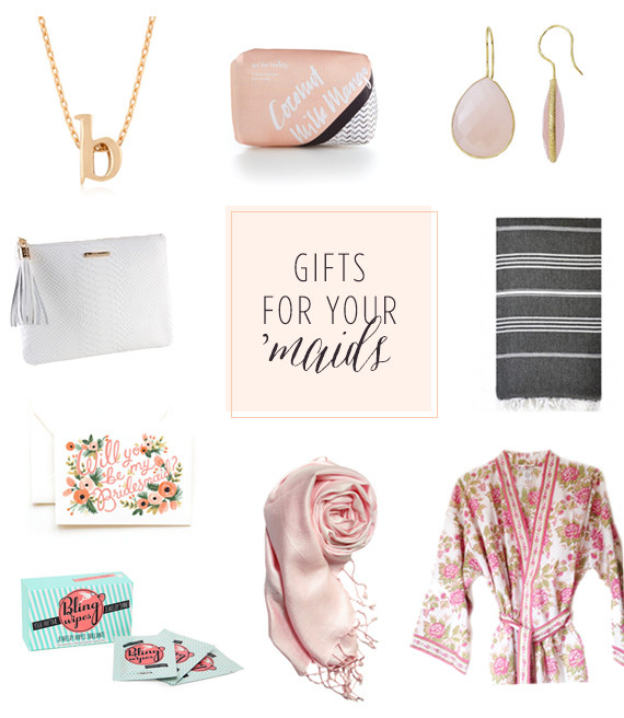 Best ideas about Gift Ideas For Bridesmaids . Save or Pin Modern bridesmaid t ideas Now.