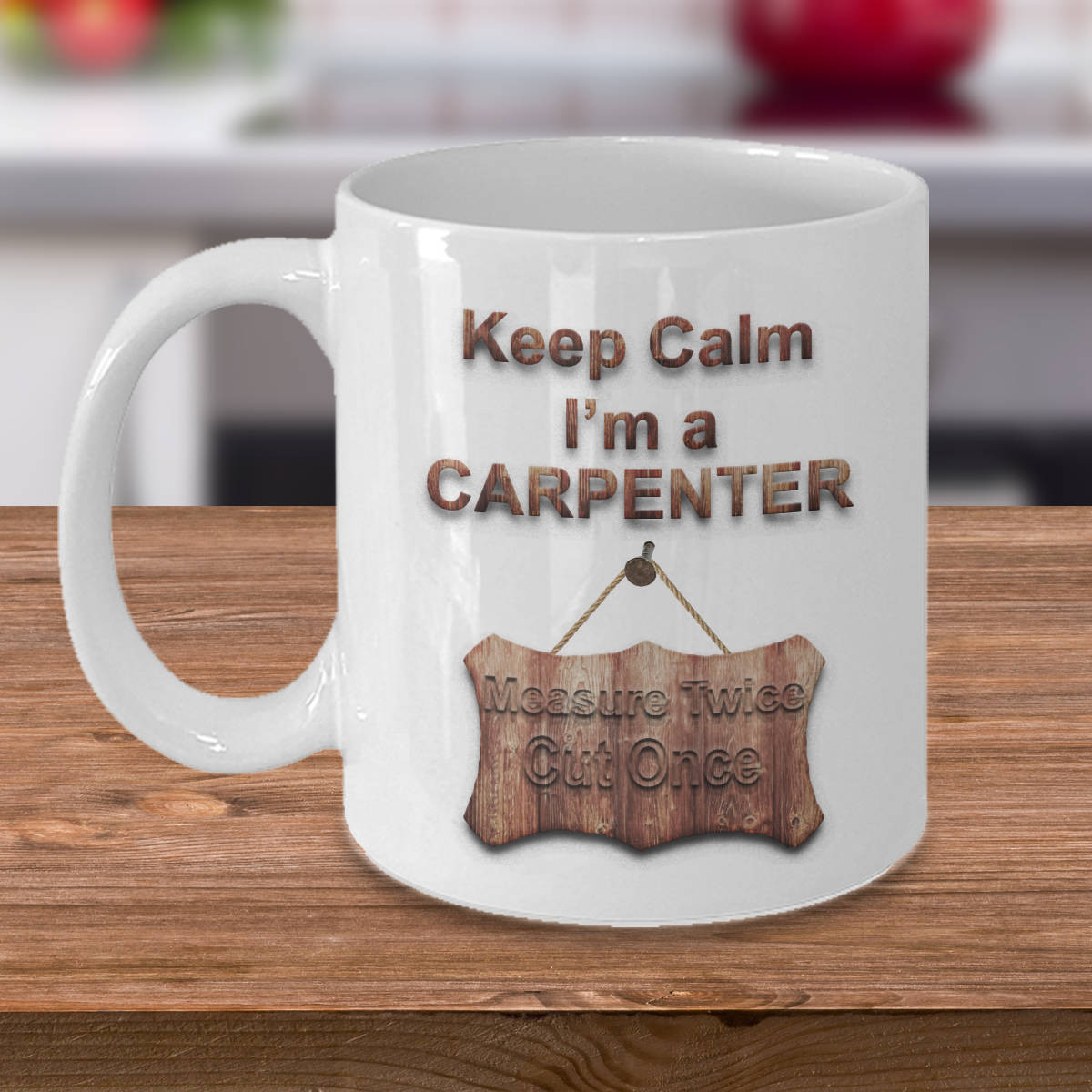 """Best ideas about Gift Ideas For Carpenters . Save or Pin Gift for Carpenter """"Keep Calm I m a Carpenter"""" Funny Gift Now."""