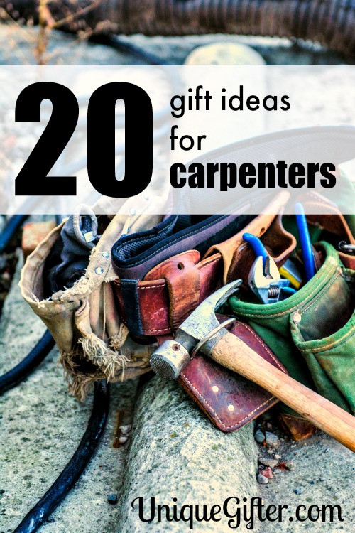 Best ideas about Gift Ideas For Carpenters . Save or Pin 20 Gift Ideas for Carpenters Unique Gifter Now.