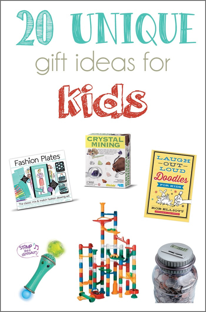Best ideas about Gift Ideas For Children . Save or Pin 20 Unique Gift Ideas for Kids and a GIVEAWAY Cutesy Crafts Now.