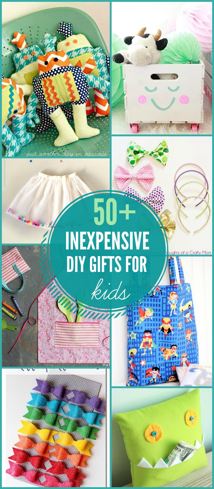 Best ideas about Gift Ideas For Children . Save or Pin DIY Gifts for Kids Now.