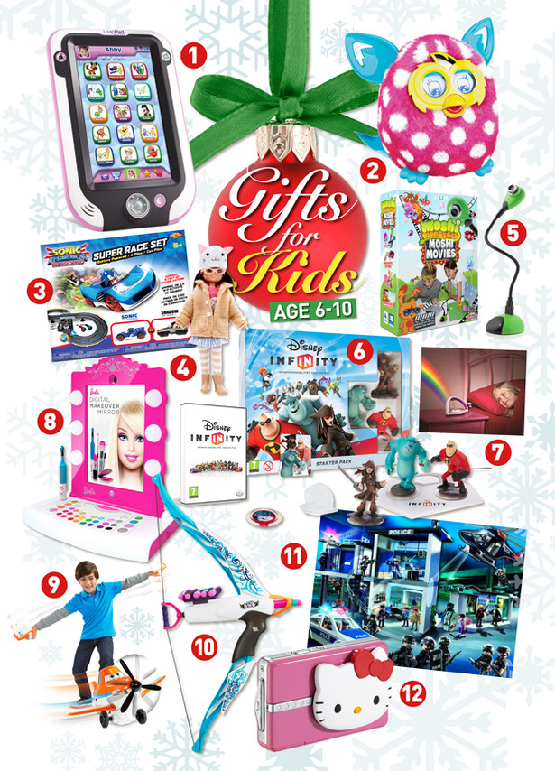 Best ideas about Gift Ideas For Children . Save or Pin Christmas t ideas for kids age 6 10 Adele Jennings Now.