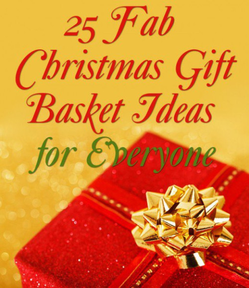 Best ideas about Gift Ideas For Couples Christmas . Save or Pin 25 Christmas Gift Basket Ideas to Put To her Now.