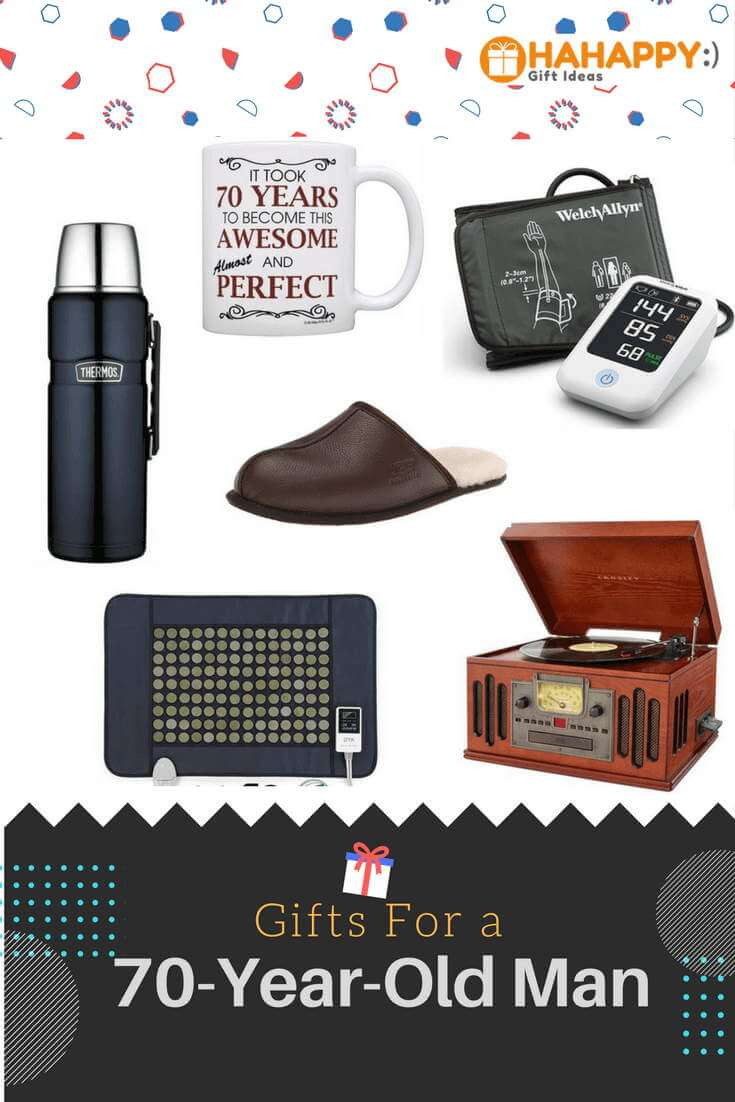 Best ideas about Gift Ideas For Elderly Man . Save or Pin Gifts For A 70 Year Old Man Unique & Thoughtful Now.