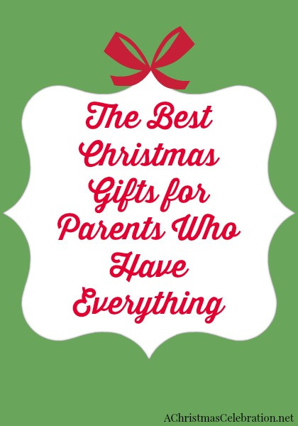 Best ideas about Gift Ideas For Elderly Parents . Save or Pin Christmas Gift Ideas for Elderly Parents Who Have Everything Now.