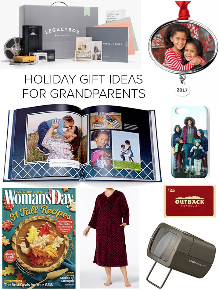Best ideas about Gift Ideas For Elderly Parents . Save or Pin Holiday Gift Ideas for Grandparents Now.