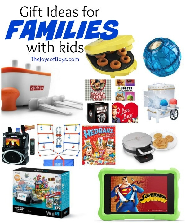Best ideas about Gift Ideas For Families . Save or Pin Gift Ideas for Families with Kids The Joys of Boys Now.