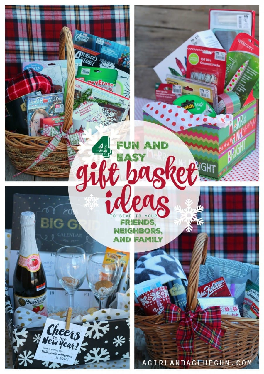 Best ideas about Gift Ideas For Families . Save or Pin 4 fun and easy t basket ideas for Christmas A girl Now.