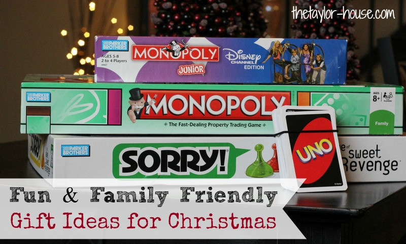 Best ideas about Gift Ideas For Families . Save or Pin Fun & Family Friendly Gift Ideas Now.