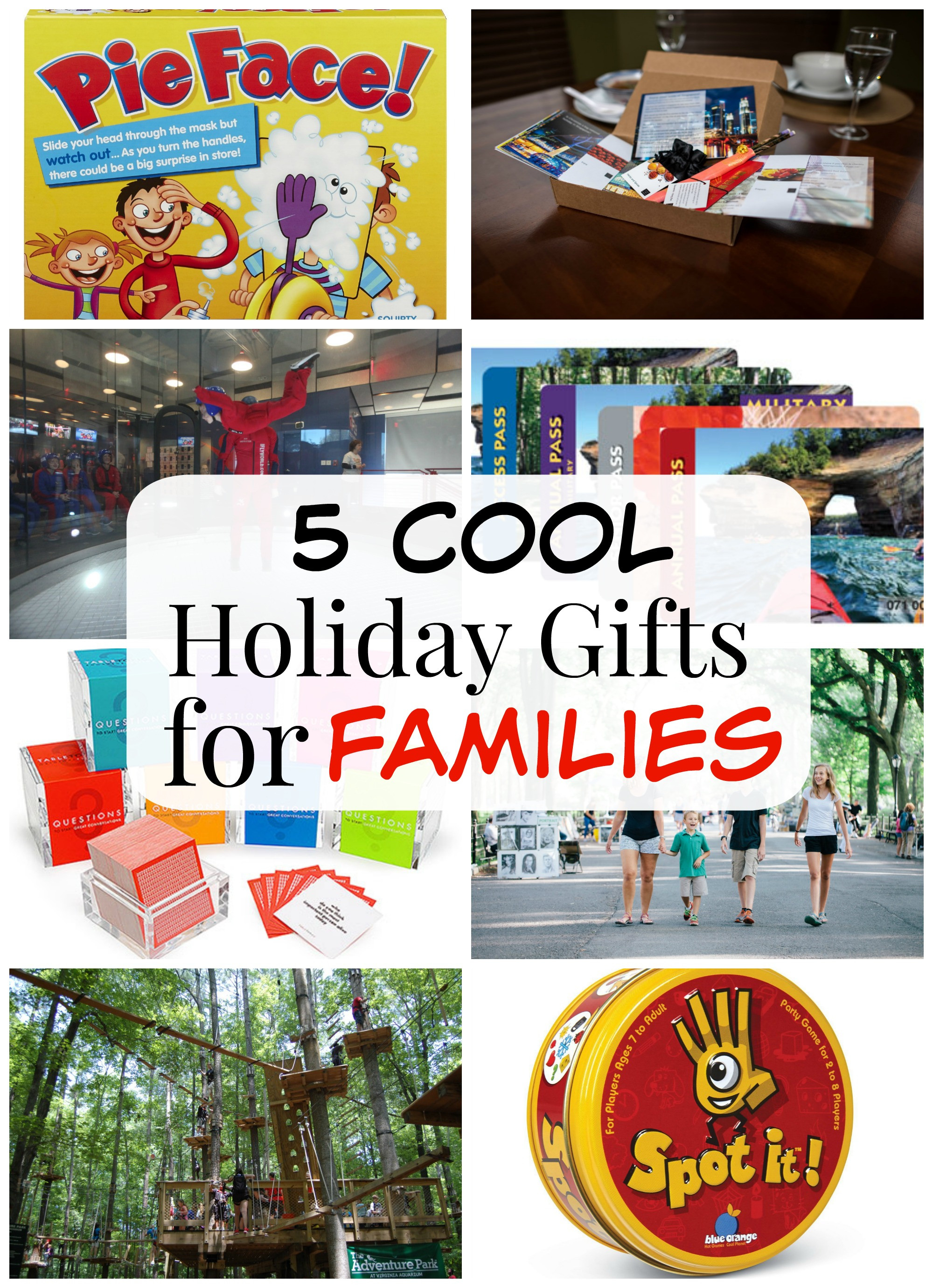 Best ideas about Gift Ideas For Families . Save or Pin 5 Cool Holiday Gifts for Families R We There Yet Mom Now.