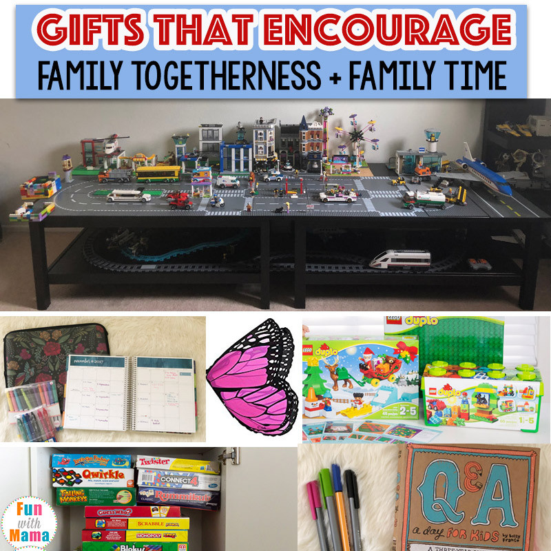 Best ideas about Gift Ideas For Families . Save or Pin Family Gift Ideas That Encourage Family Time Fun with Mama Now.