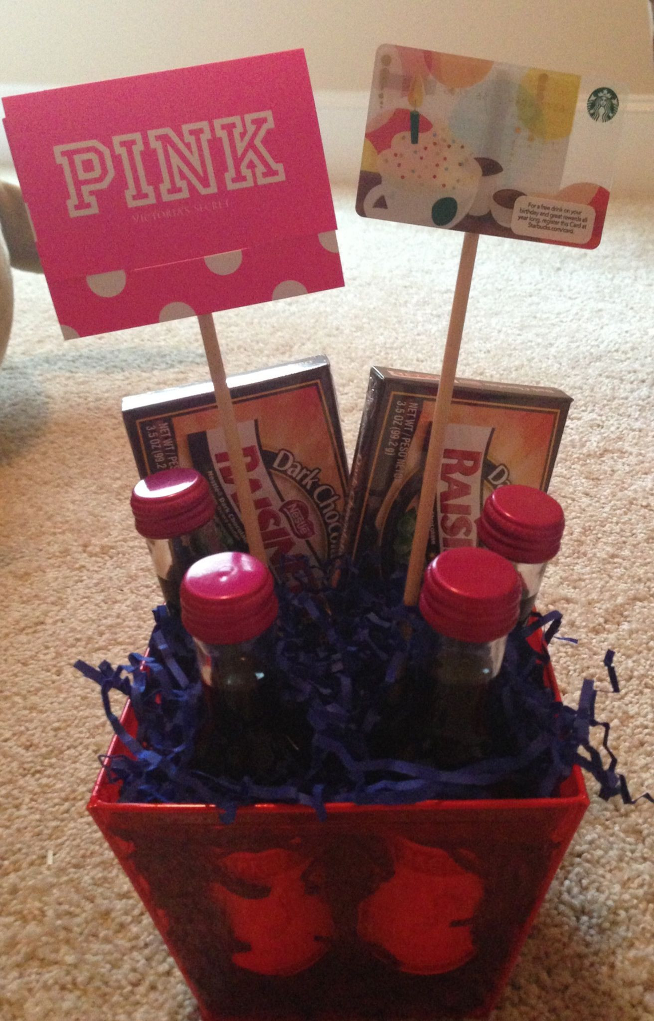 Best ideas about Gift Ideas For Female Friend . Save or Pin Birthday t basket for my sweet friend Can customize to Now.
