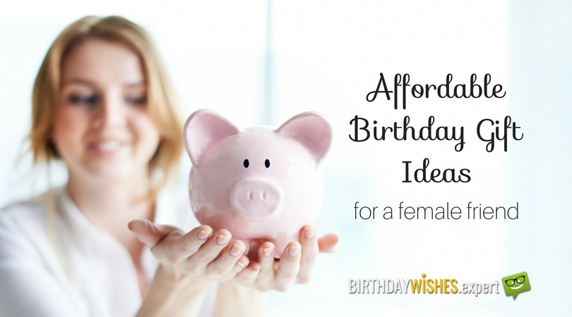 Best ideas about Gift Ideas For Female Friend . Save or Pin 20 Affordable Birthday Gift Ideas for a Female Friend Now.