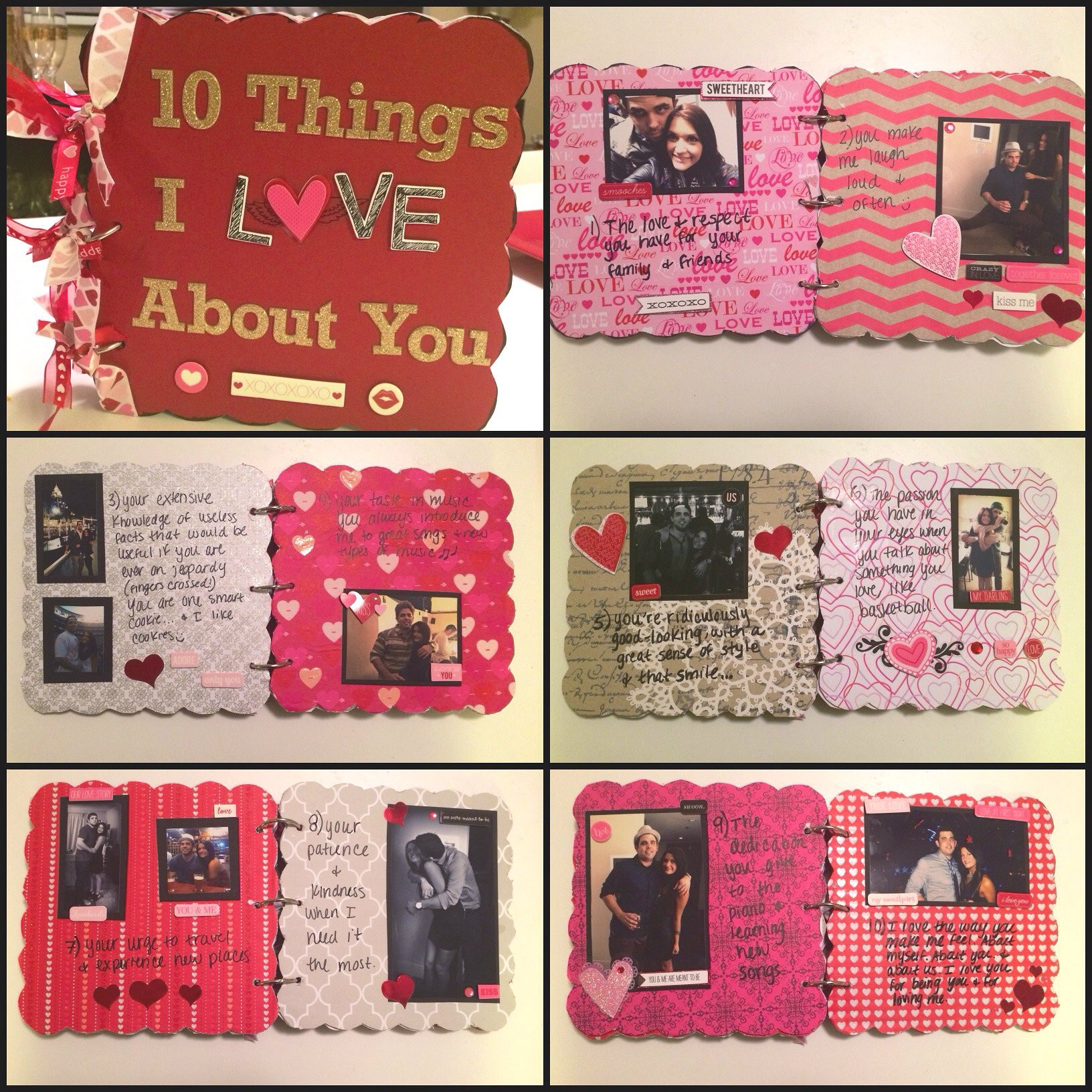 Best ideas about Gift Ideas For Fiance . Save or Pin Boyfriend Gift Idea Chipboard Scrapbook Now.
