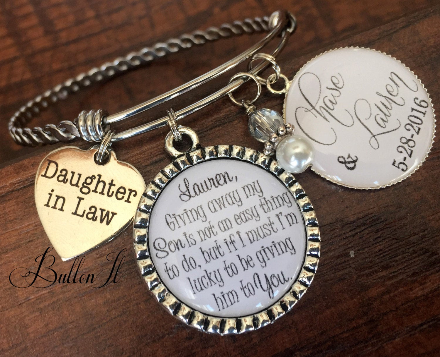Best ideas about Gift Ideas For Future Daughter In Law . Save or Pin Daughter in law t BANGLE bracelet future daughter in law Now.