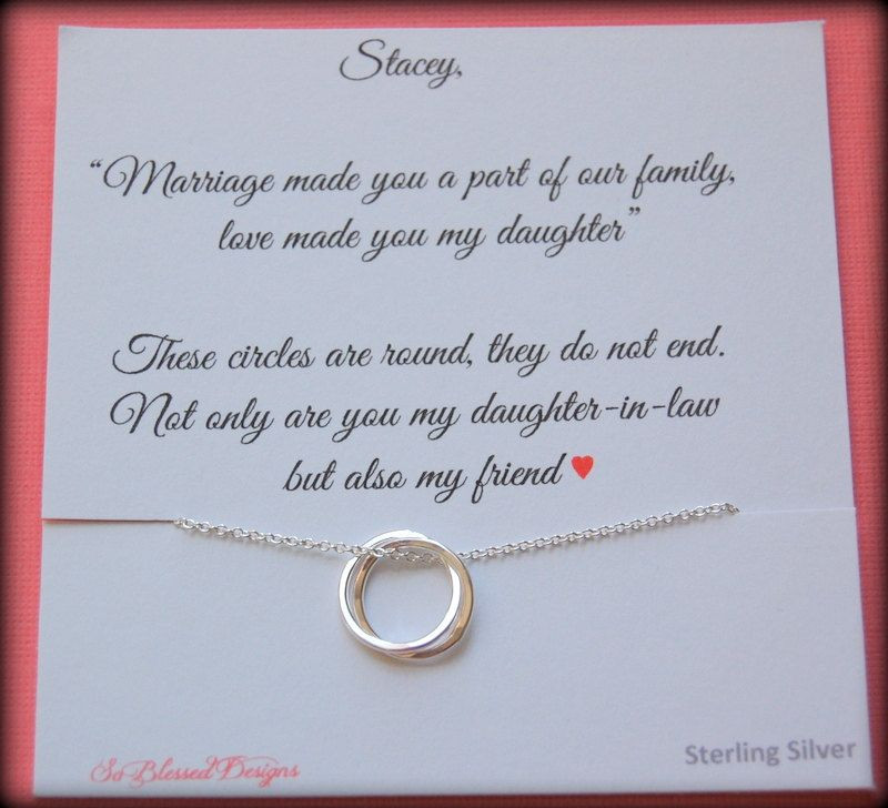 Best ideas about Gift Ideas For Future Daughter In Law . Save or Pin Gift for new daughter in law From mother in law daughter Now.