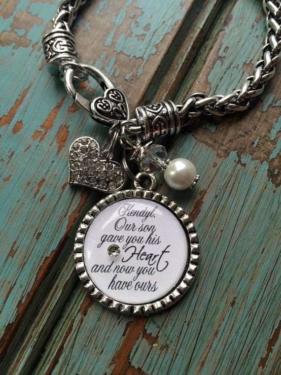 Best ideas about Gift Ideas For Future Daughter In Law . Save or Pin Personalized DAUGHTER in LAW bracelet our son gave you by Now.