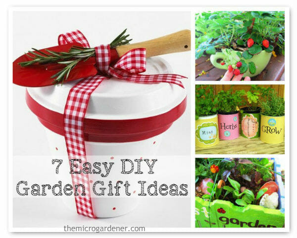 Best ideas about Gift Ideas For Gardeners . Save or Pin 7 Easy DIY Garden Gift Ideas The Micro Gardener Now.