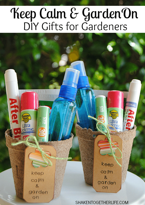 Best ideas about Gift Ideas For Gardeners . Save or Pin DIY Gifts for Gardeners Keep Calm & Garden Now.