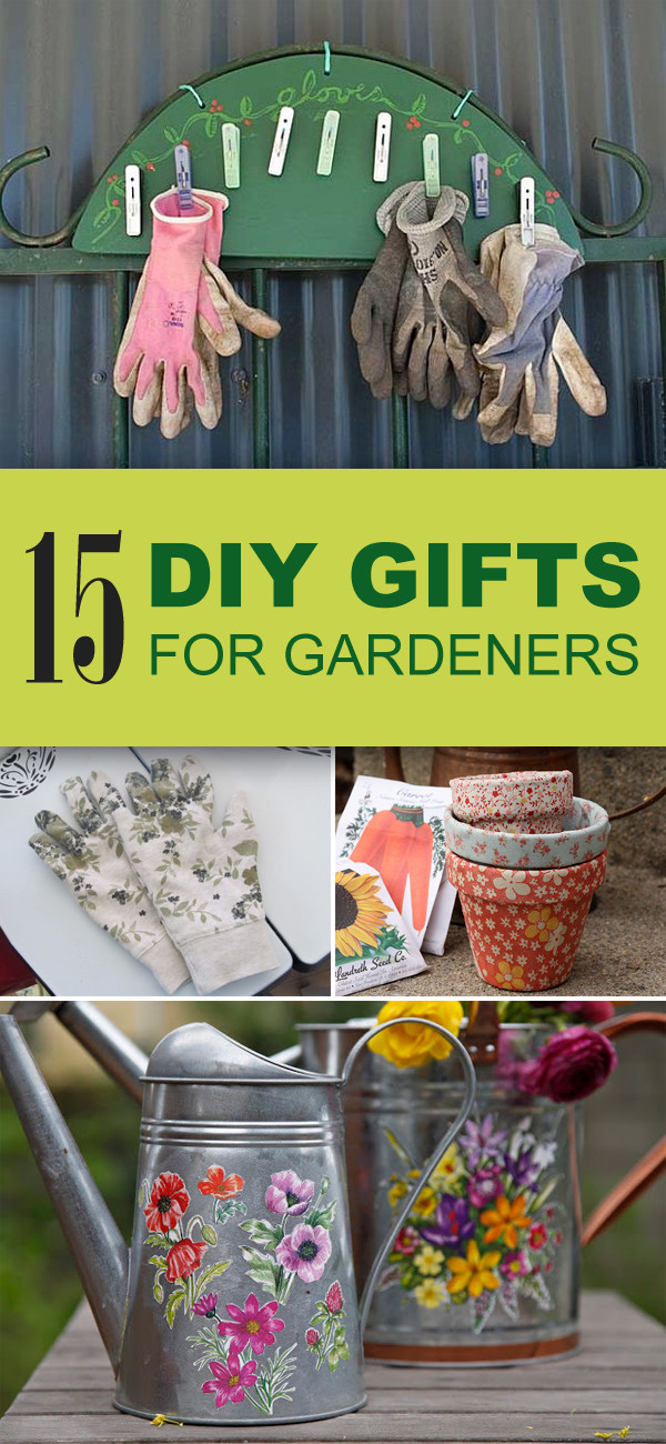 Best ideas about Gift Ideas For Gardeners . Save or Pin 15 Easy & Unique DIY Gifts for Gardeners Now.