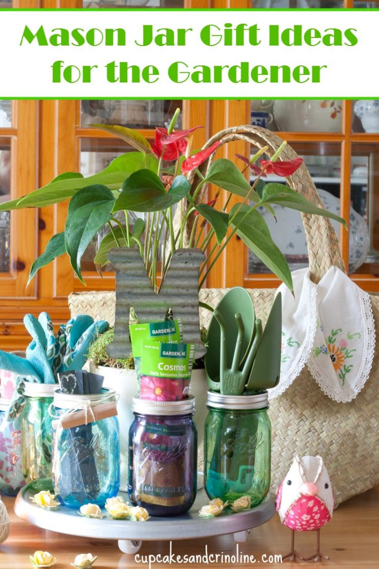 Best ideas about Gift Ideas For Gardeners . Save or Pin Mason Jar Gardening Gifts for Mom Now.