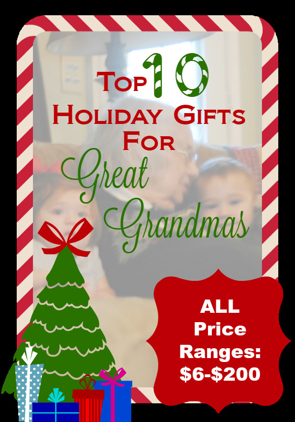 Best ideas about Gift Ideas For Great Grandma . Save or Pin Holiday Gifts for Great Grandma Now.