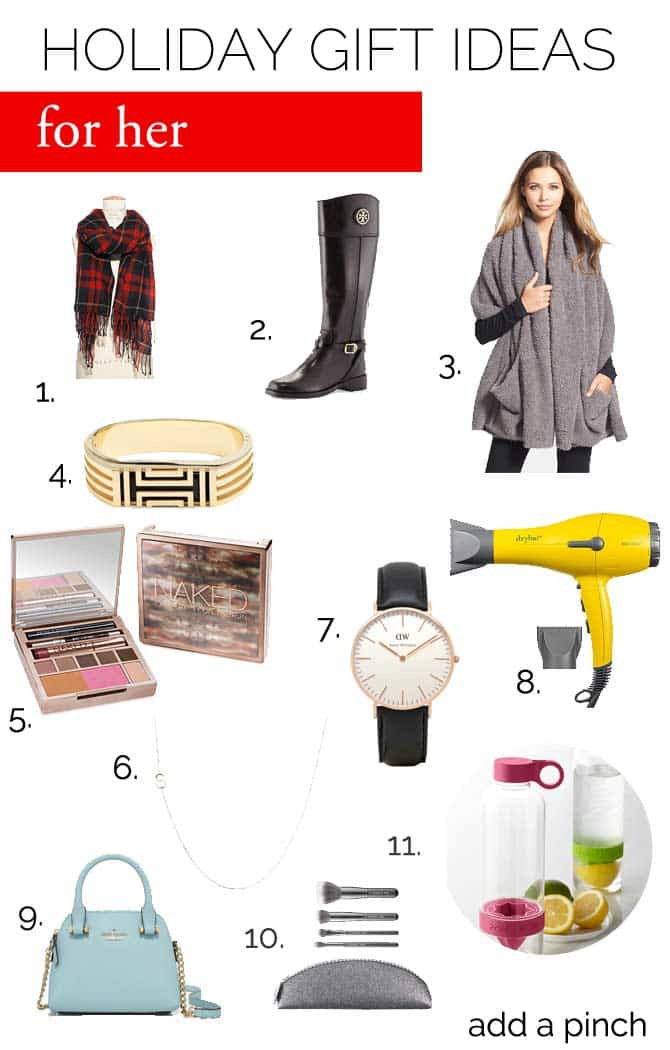Best ideas about Gift Ideas For Her . Save or Pin Gift Ideas for Her Add a Pinch Now.