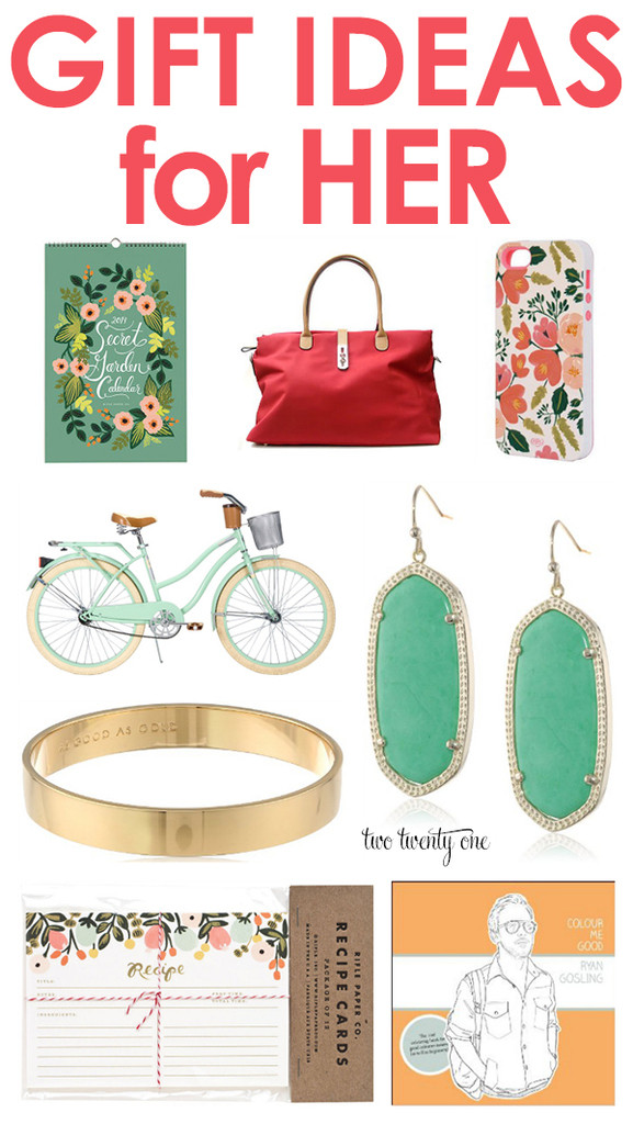 Best ideas about Gift Ideas For Her . Save or Pin Gift Ideas For Her Now.