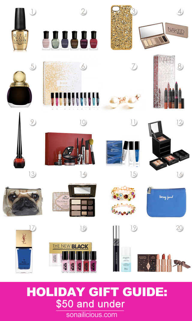 Best ideas about Gift Ideas For Her . Save or Pin 20 Fabulous Christmas Gift Ideas For Her All Under $50 Now.
