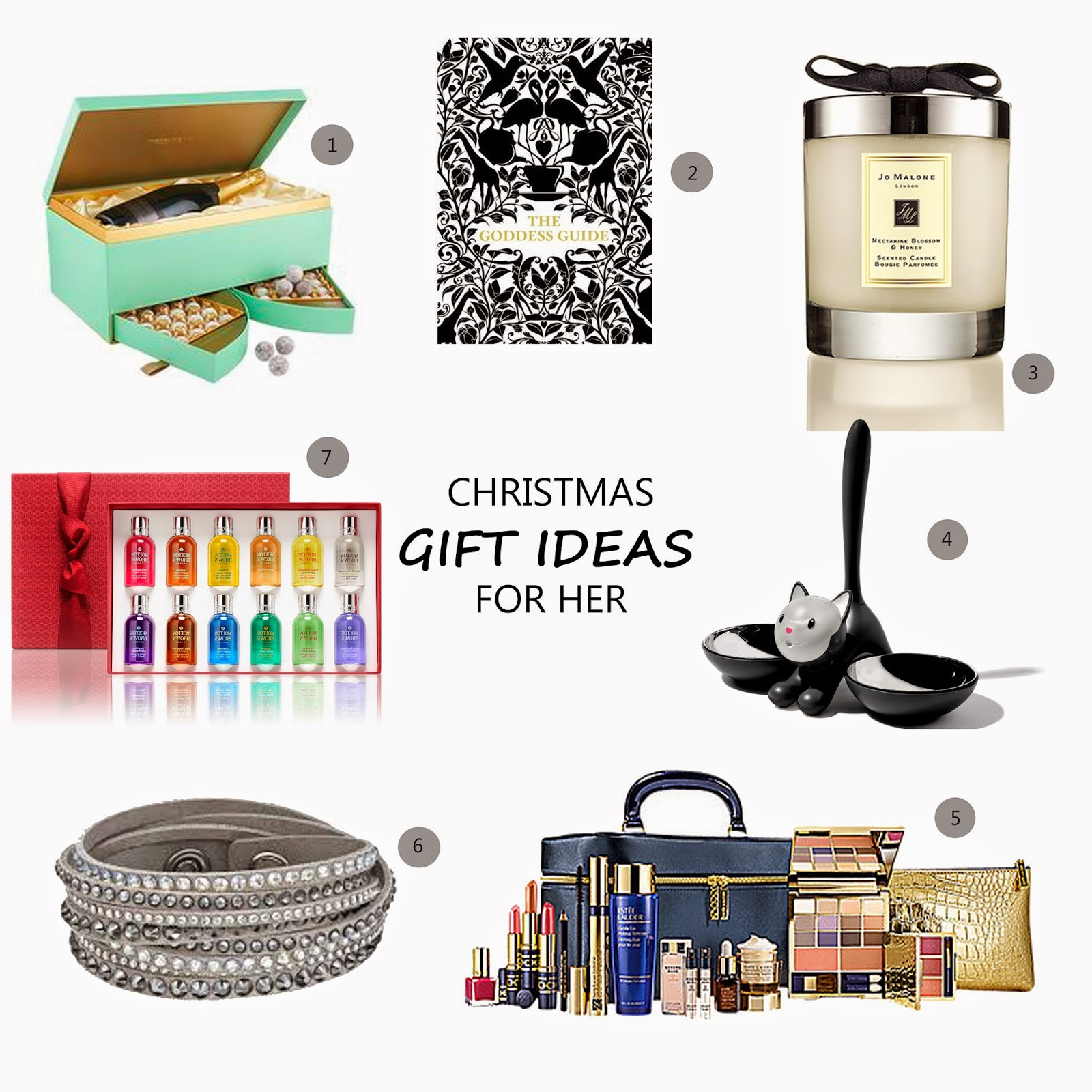 Best ideas about Gift Ideas For Her . Save or Pin 7 Christmas Gift Ideas for Her Loved By Laura Now.