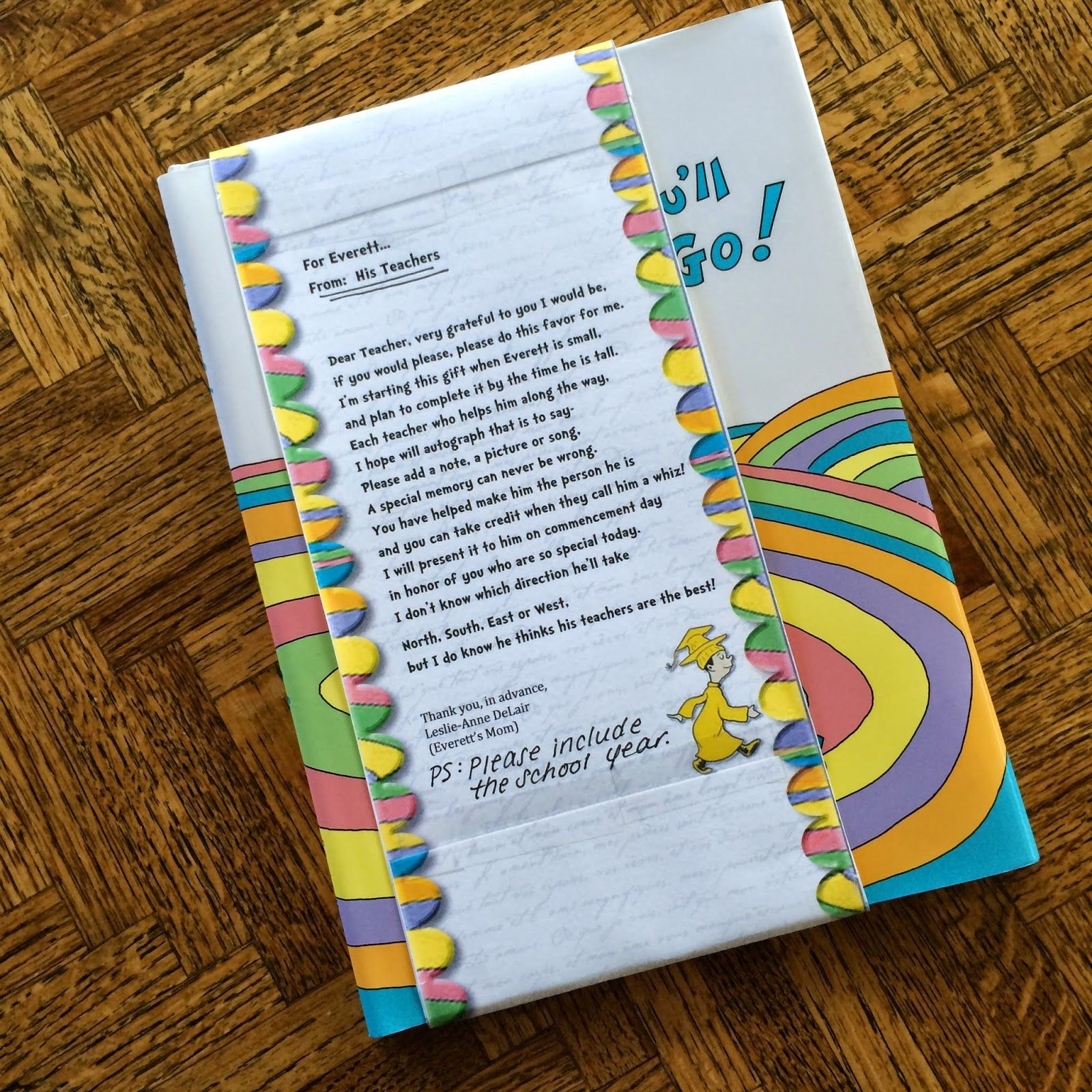 Best ideas about Gift Ideas For Kindergarten Graduation . Save or Pin The Ultimate Graduation Gift Oh The Places You ll Go Now.
