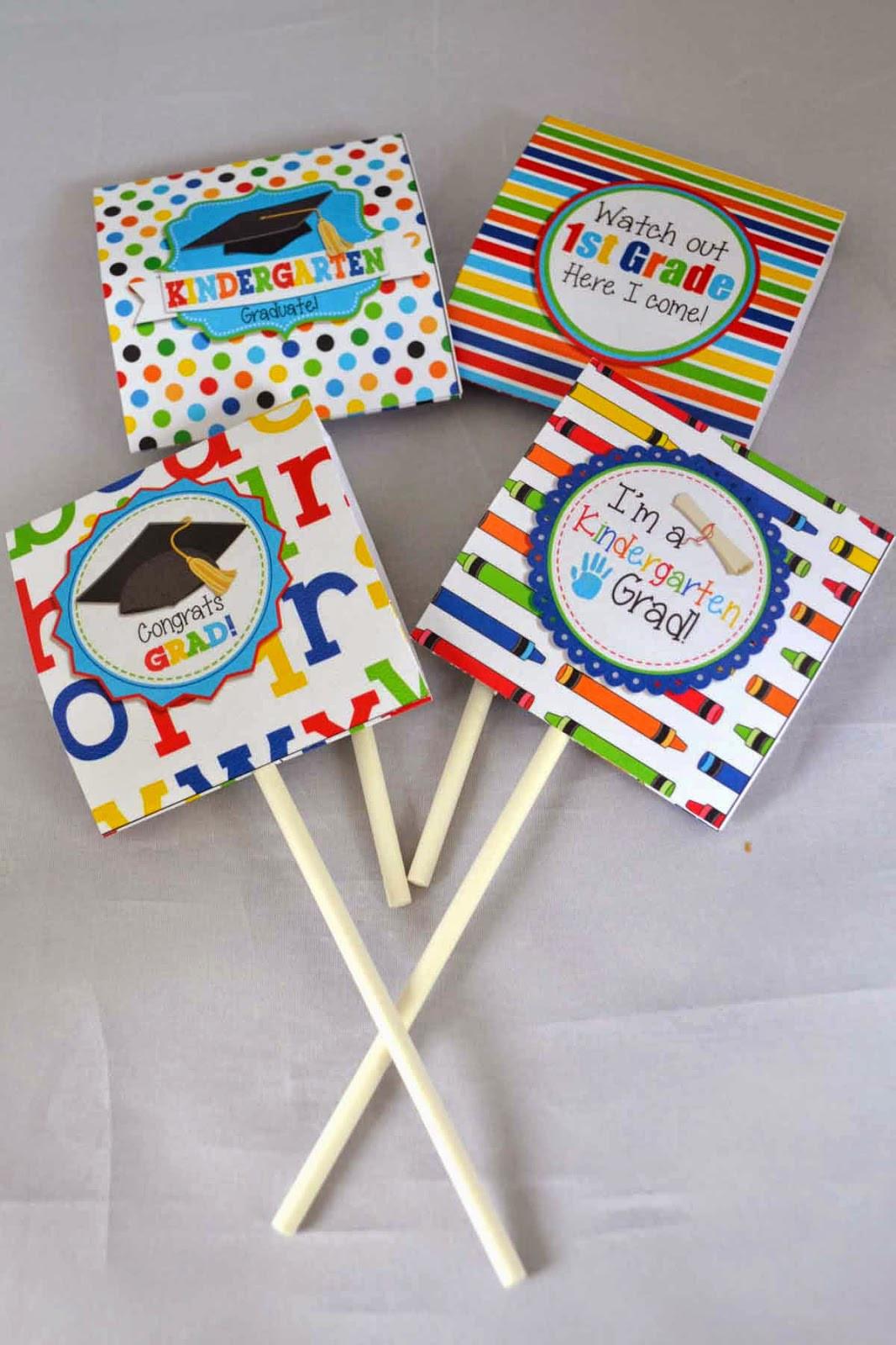 Best ideas about Gift Ideas For Kindergarten Graduation . Save or Pin A Manda Creation Kindergarten Graduation Party Printables Now.