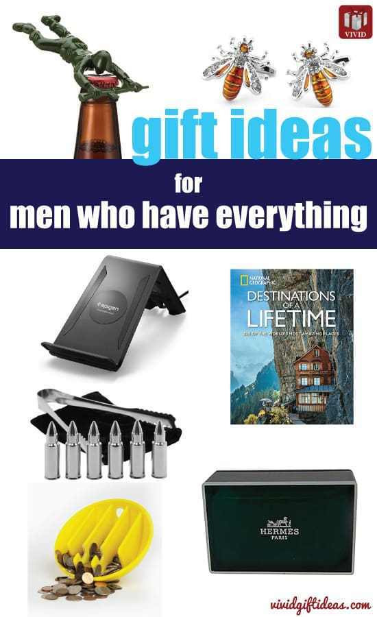 Best ideas about Gift Ideas For Man Who Has Everything . Save or Pin 9 Gift Ideas for Men who Have Everything Vivid s Now.