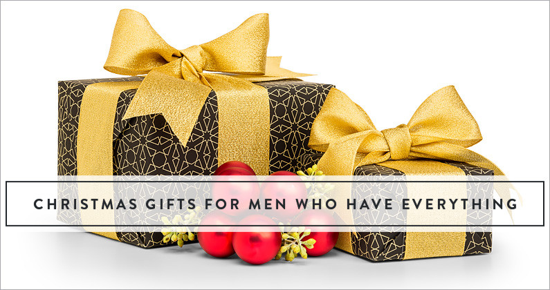 Best ideas about Gift Ideas For Man Who Has Everything . Save or Pin Christmas Gifts For Men Who Have Everything The Gift Now.