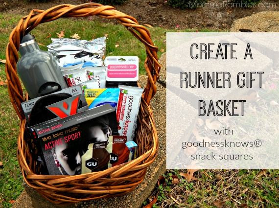 Best ideas about Gift Ideas For Marathon Runners . Save or Pin Create a Runner Gift Basket with goodnessknows snack Now.