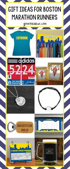 Best ideas about Gift Ideas For Marathon Runners . Save or Pin 1000 images about Boston Marathon Race Gifts on Pinterest Now.