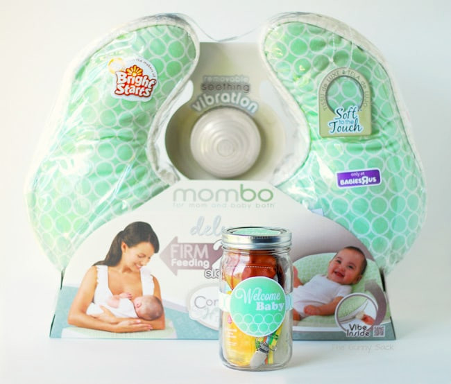 Best ideas about Gift Ideas For New Baby . Save or Pin Wel e Baby Gift In A Jar & mombo™ Giveaway Now.