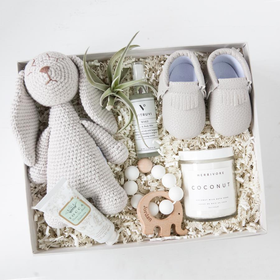 Best ideas about Gift Ideas For New Baby . Save or Pin New Mom Gift Box Be ing A Mom Now.