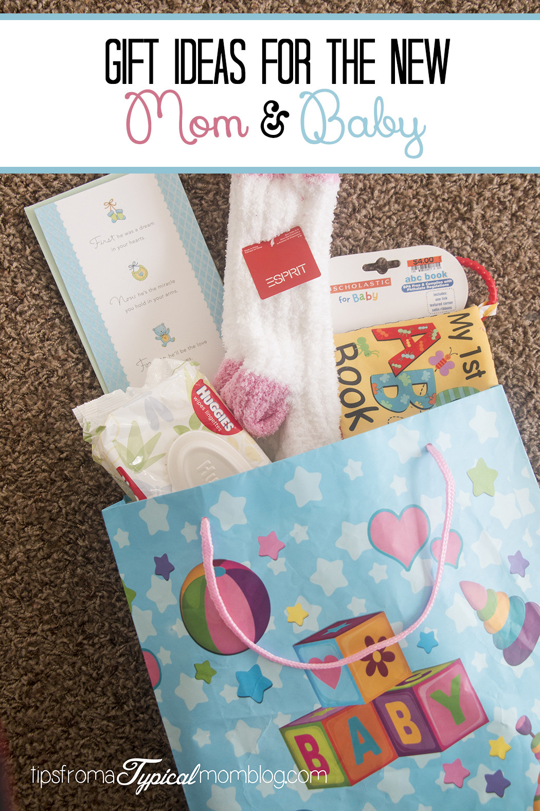 Best ideas about Gift Ideas For New Baby . Save or Pin Gift Ideas for the New Mom and Baby Tips from a Typical Mom Now.