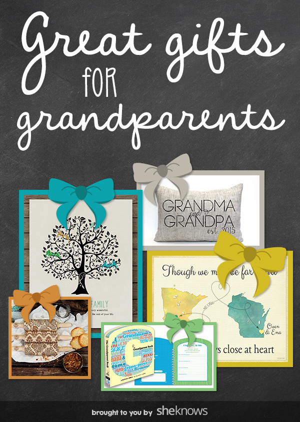 Best ideas about Gift Ideas For New Grandparents . Save or Pin Out of the Box Gifts for Grandparents That ll Put a Smile Now.