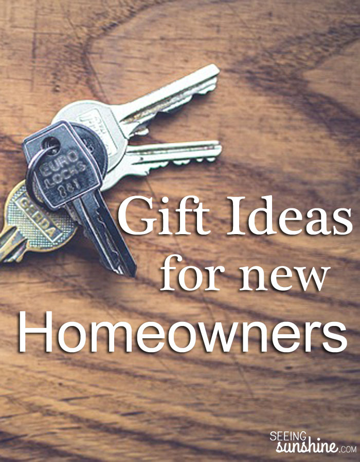 Best ideas about Gift Ideas For New Homeowners . Save or Pin Gift Ideas for New Homeowners Seeing Sunshine Now.